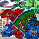 恐龙机甲变形记无限钻石金币破解版下载