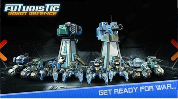 机器人勇士塔防手游下载截图