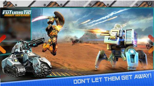 机器人勇士塔防安卓版截图