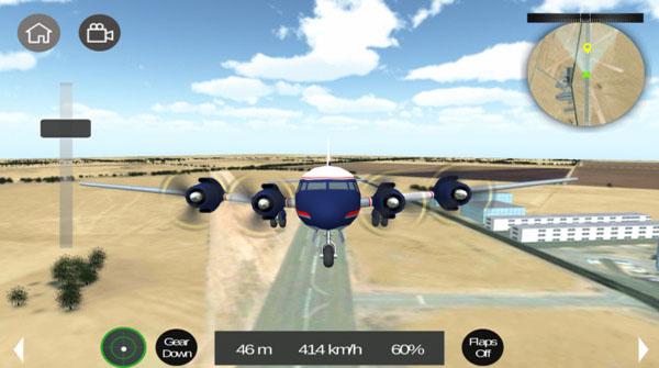 和平飞行飞机模拟破解版截图