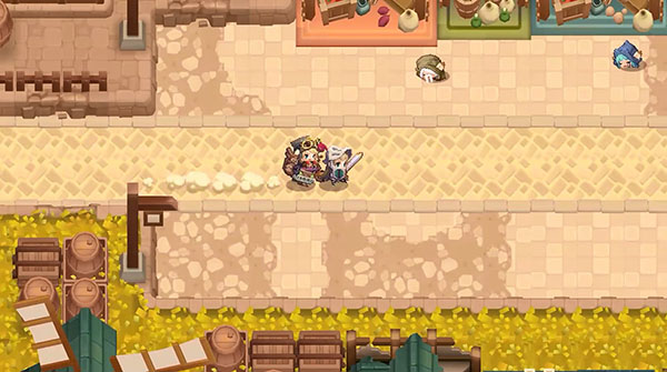 坎特伯雷公主与骑士唤醒冠军之剑的奇幻冒险游戏下载截图