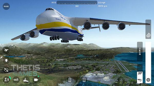 飞行模拟驾驶2018中文破解版下载截图