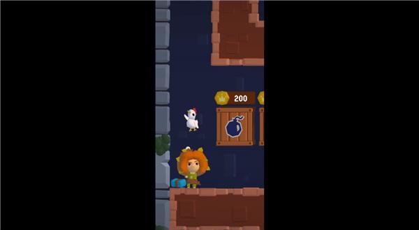 站上塔楼使用小鸡攻略