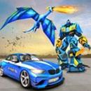 美国警察机器人车游戏
