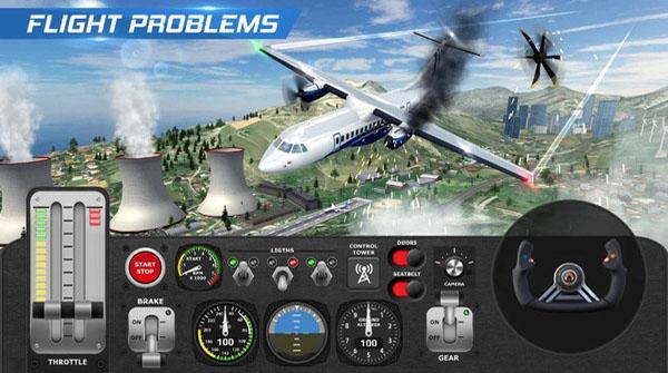 飞机飞行员模拟器中文版下载截图
